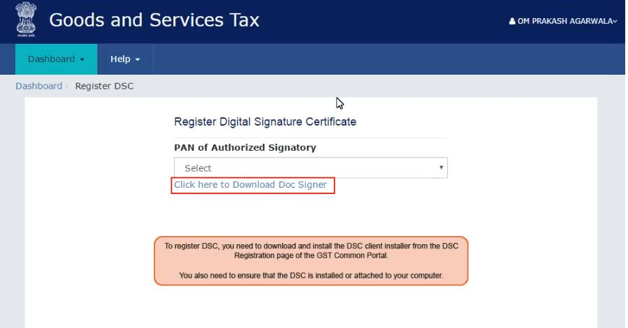 dsc-for-regn-of-gst3