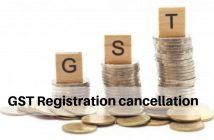GST Registration Cancellation