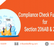 TDS / TCS- Compliance Functionality