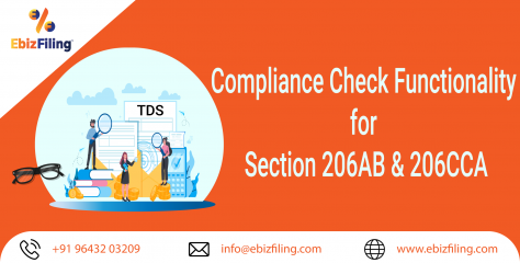 TDS / TCS- Compliance Functionality for Section 206AB & 206CCA for Non-filers using Online Utility
