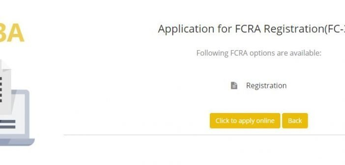 FCRA REGISTRATION PROCESS