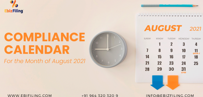 TDS compliance for August 2021